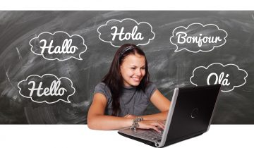 Tech integration in a language learning classroom