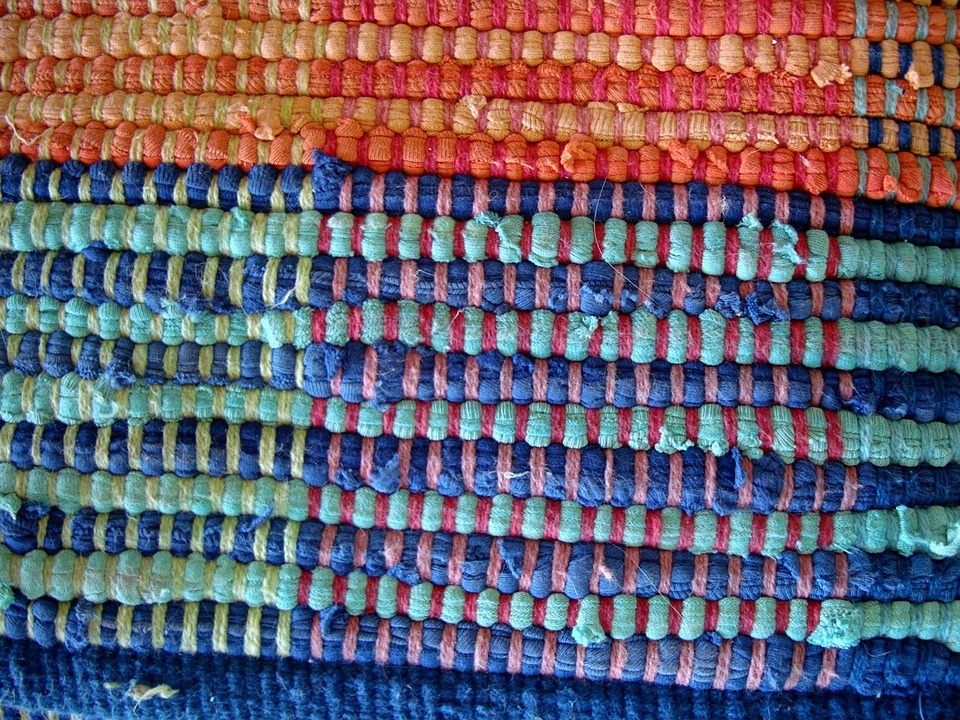 visually represent weaving together